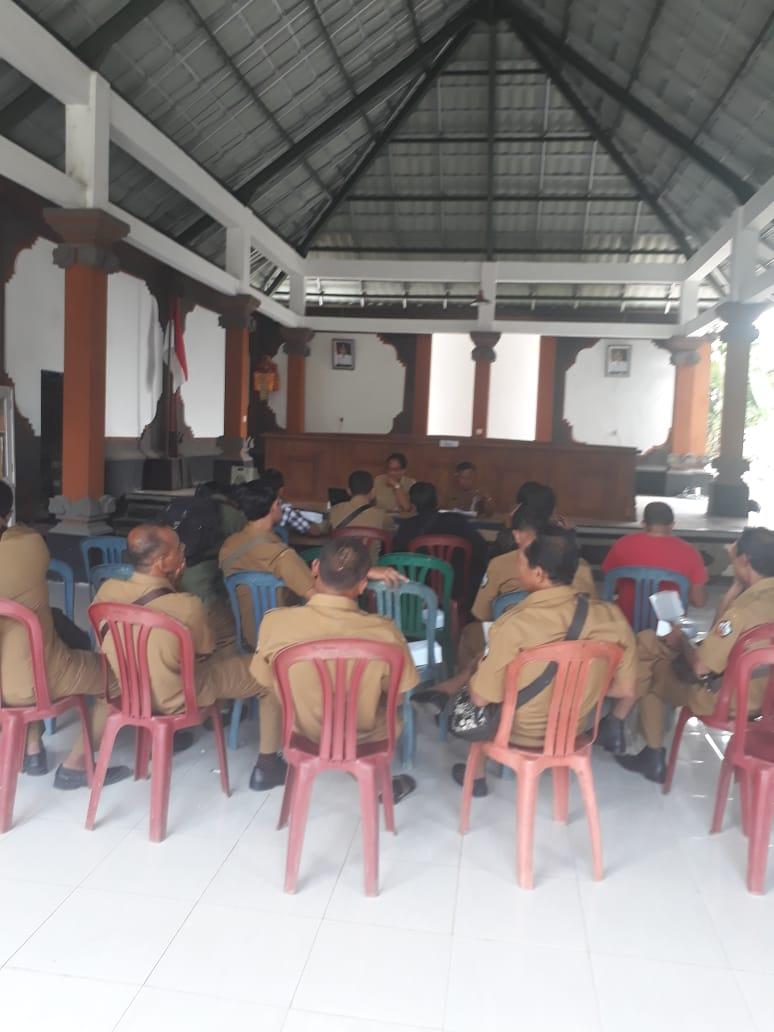 Rapat Sosialisasi tentang Pemilihan BPD