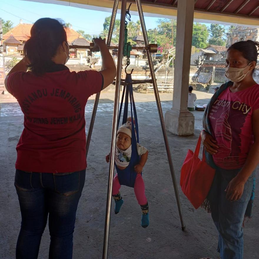 Kegiatan Penyelenggaraan Posyandu di Br.Dinas Jehem Kaja dan Tambahan Bakas